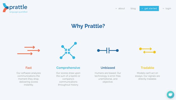 Prattle Homepage 2