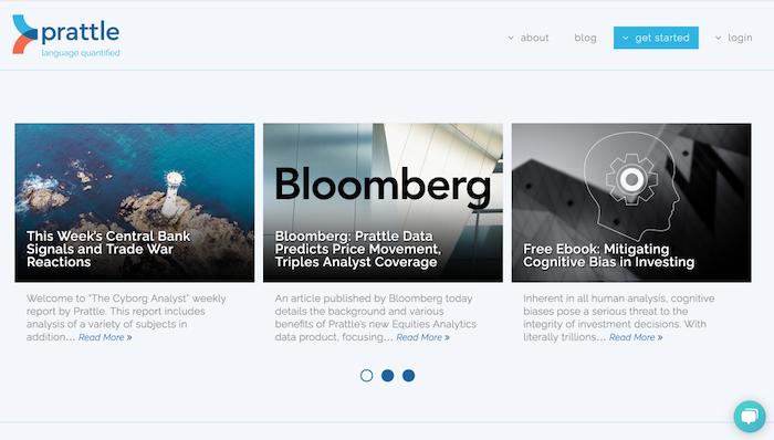 Prattle Homepage 3